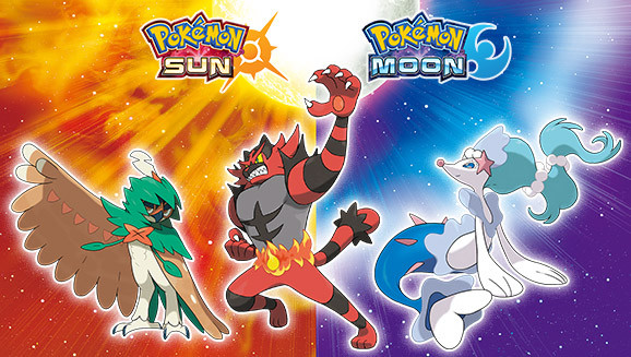 Pokémon Sun & Moon Games' Trailer Confirms Starters' Final Evolutions