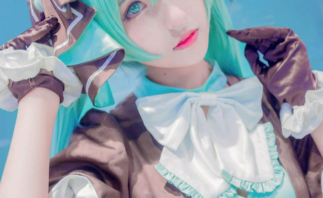 Dark & Beautiful Hatsune Miku Cosplay