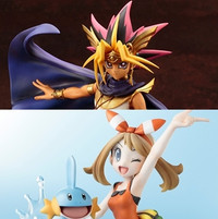 "Kotobukiya's ""Pocket Monsters"" Haruka & ""Yu-Gi-Oh!"" Atem ARTFX J Figure Introduced in Videos"