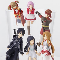 """Sword Art Online"" Characters Become Cute ""PUTITTO"" Figures for Your Cup"