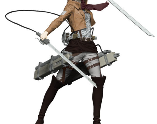 Attack on Titan's Mikasa Gets Articulated Figure from McFarlane Toys