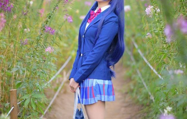 Sonoda Umi Cosplay by Tomia Exceedingly Blue