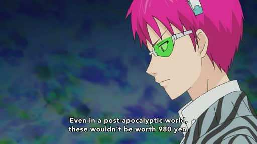 Saiki Kusuo no Ψ Nan (TV) Ep. 18 is now available in OS.