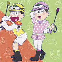 """Mr. Osomatsu"" Horses Around With the JRA in New TV Special"