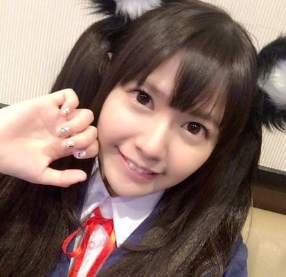 Ayana Taketatsu Cosplays as Her K-ON! Character Azusa