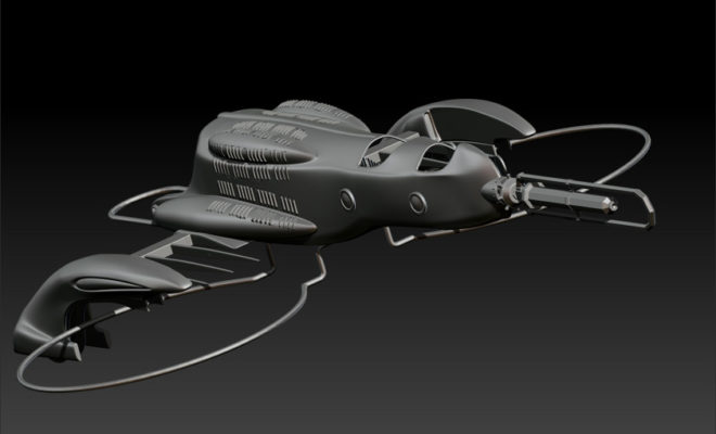 Drone Version of Last Exile's Vanships Under Development