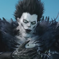 """Death Note"" Movie Characters in ""LINE Bubble 2"" Commercial"