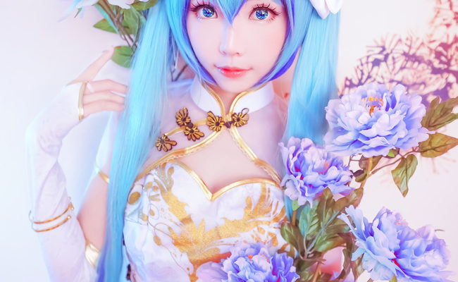 Perfect Hatsune Miku China Dress Cosplay by Elye
