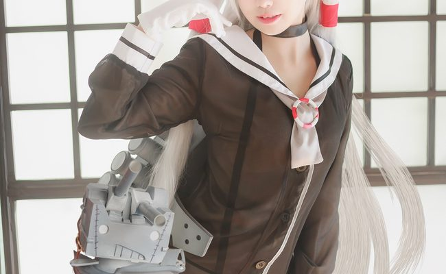 Amatsukaze Cosplay Fully Loaded