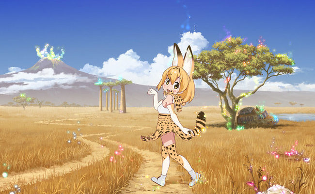 Kemono Friends TV Anime to Premiere on January 10 With Half-Hour Episodes