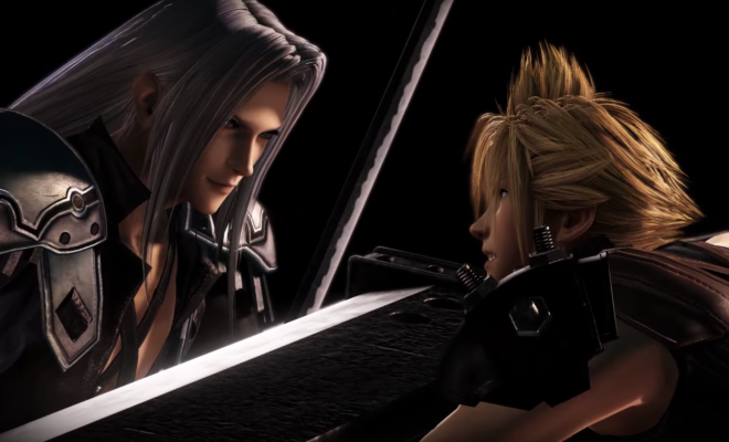 Sephiroth Descends Upon Dissidia Final Fantasy