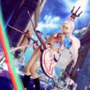 "Latest English ""Fate/Extella"" Trailer Slices Through Crowds with Altera"