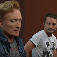 "Conan O'Brien and Elijah Wood Give Us a Sneak Peek at ""Final Fantasy XV"""