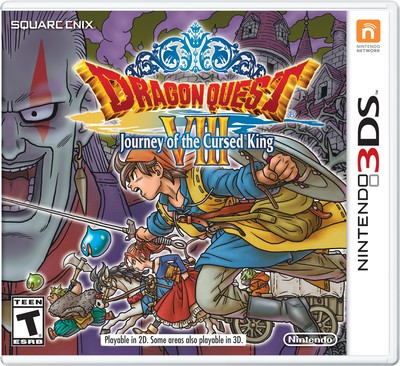 Dragon Quest VIII 3DS Port Slated for January 20 in N. America