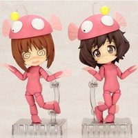 """Girls und Panzer"" Ankou Suit Cu-Poche Figures to be Sold at Oarai Ankou Festival This Sunday"