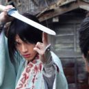 Live-Action Blade of the Immortal Film's Stills Show Sōta Fukushi, Erika Toda in Battle