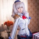 Cute Kashima Cosplay Full of Elegance