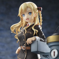 "Kotobukiya Previews ""High School Fleet"" German Cruiser Deputy Captain Wilhelmina Figure"