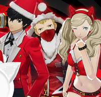 """Persona 5"" Costumes Get in the Christmas Spirit Next Week"