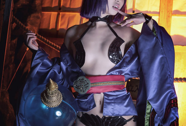 Raunchy Shuten Douji Cosplay Horny Indeed