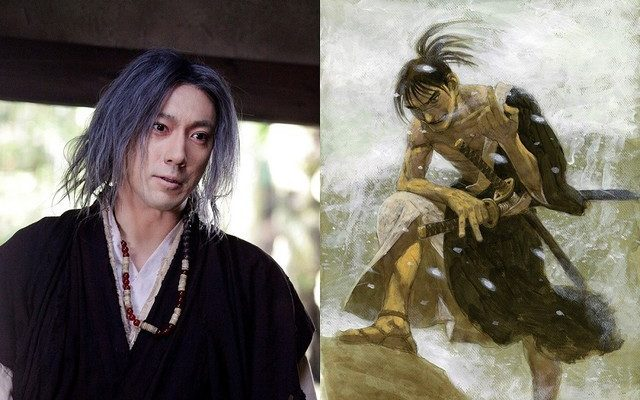 Live-Action Blade of the Immortal Film's Still Shows Ichikawa Ebizō XI as Eiku Shizuma