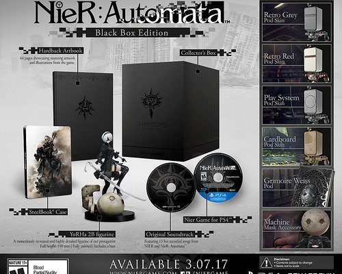 NieR:Automata Game's PSX Trailer Reveals March 7 N. American Release Date
