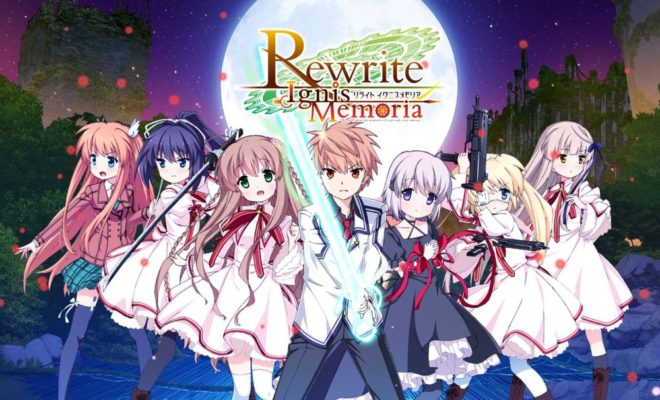 Key's Rewrite Visual Novel Gets Rewrite IgnisMemoria Smartphone Game