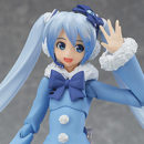 """2012's """"Fluffy Coat"""" Snow Miku Joins the Figma Family"""