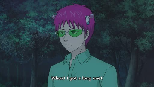 Saiki Kusuo no Ψ Nan (TV) Ep. 22 is now available in OS.