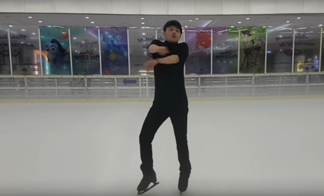 Yuri on Ice Routine Recreated in 3D