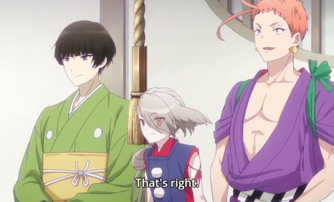 Touken Ranbu: Hanamaru Ep. 12 is now available in OS.