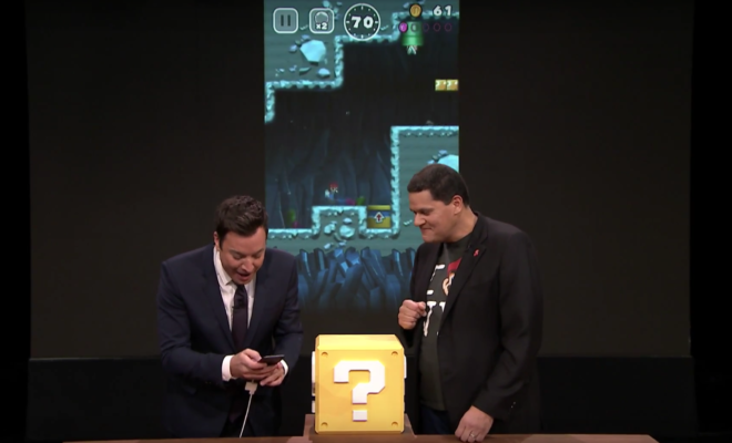 Nintendo Switch Debuts on Tonight Show