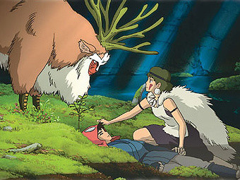Princess Mononoke to Screen in U.S. Theaters With 'On Your Mark' Short