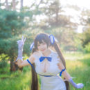 Outdoors Hestia Cosplay All Natural
