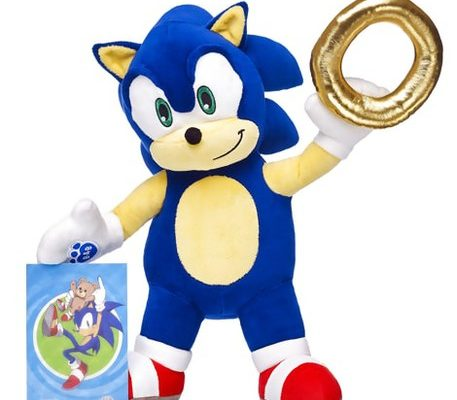 Race to Make Your Own Sonic Plush at Build-A-Bear