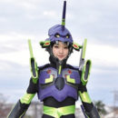 "Ayame Goriki Shows Her Cosplay as EVA-01 in TV Drama ""Rental no Koi"""