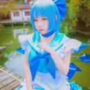 Bubbly Cirno Cosplay Infinitely Cute