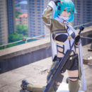 Rooftop Shinon Cosplay Dangerously Sexy