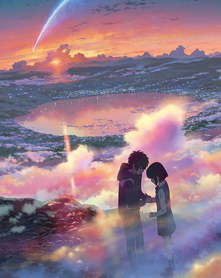 Shinkai's your name. Film Poised to Top China's Weekend Box Office