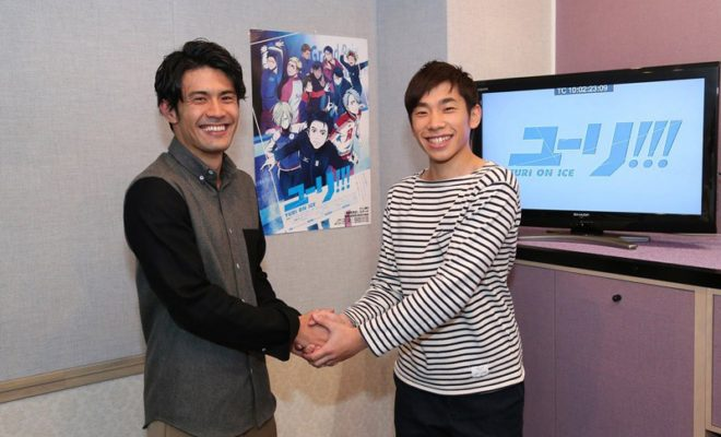 Yuri!!! on Ice Anime Casts Pro Skater Nobunari Oda as Himself