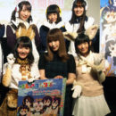 """The Cast of """"Kemono Friends"""" Anime Appear in Animal Costumes!"""