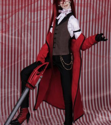 Play With Black Butler: Book of Circus' Grell Doll for US$1,464