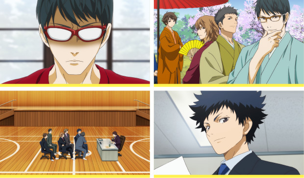 Cheer Boys!! DVD/BD to Bundle 2 OVAs