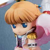 Relena and Heero Look Angelic in New SD Gundam Figures