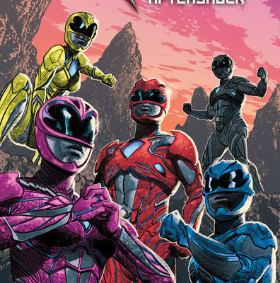 New Power Rangers Film Gets Graphic Novel Sequel in March