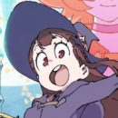 """Little Witch Academia"" Celebrates Launch With Giant Subway Banner"