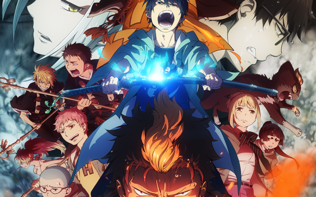 "Crunchyroll Announces Plans For ""Blue Exorcist: Kyoto Saga,"" ""Granblue Fantasy,"" And ""Fate/Grand Order ‐First Order‐"" Winter Anime"