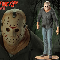 "Details of Kotobukiya's ""Friday the 13th"" Jason Voorhees ARTFX Figure Shown in Video"