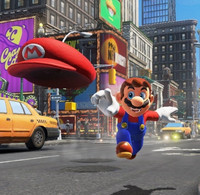"""Super Mario Odyssey"" Trailer Introduces Mario to the Real World"