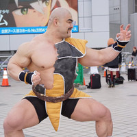 "Noted Muscle Cosplayer Does An Incredible ""Dragon Ball Z"" Nappa For Comiket"